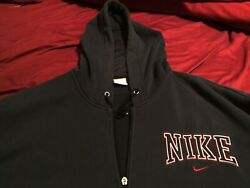 Nike Rare Vintage Collectible Embroidered Hoodie Sweatshirt - Make Offer