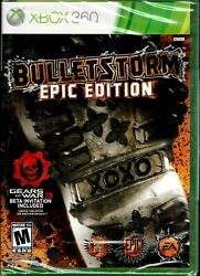 Bulletstorm Epic Edition Xbox 360 New An Outrageous Shooter Kill With Skill
