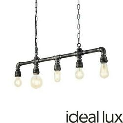 Ideal Lux Plumber Sp5 Hanging Lamp Pipes Vintage