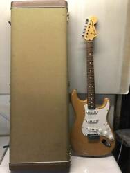 Junk Treatment Electric Guitar With Case Fender Stratocaster _7577