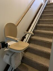 Acorn Stair Chair Lift Straight 13 Steps 2 Remotes Manuals Rail And Brackets