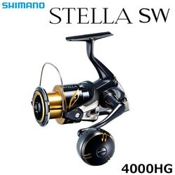Shimano 20 Stella Sw 4000-hg Spinning Reel New From Japan