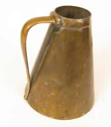 Heavy Copper Ship Train Pot Kettle Tea Coffee With Screw Base To Secure Pot