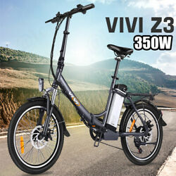 Bestvivi 350w Electric Bicycle Ebikefor Adults Teens 20mph 36v City Commuter