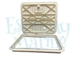 Innovative Product Solutions 16 X 18 Arctic White Boat Deck Hatch 520-723