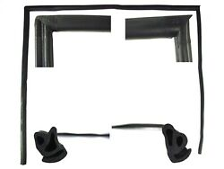 Precision Replacement Parts Rwl 2110 66 Roof Rail Weatherstrip Seal Fits Bronco