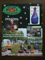 Antique Bottle And Glass Collector Magazine December 2007 Vol. 24 No. 8
