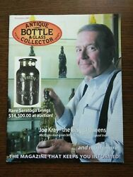 Antique Bottle And Glass Collector Magazine November 2007 Vol. 24 No. 7