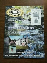 Antique Bottle And Glass Collector Magazine November 2008 Vol. 25 No. 7