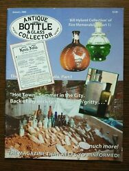 Antique Bottle And Glass Collector Magazine January 2008 Vol. 24 No. 9