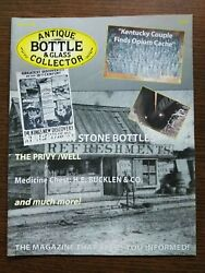 Antique Bottle And Glass Collector Magazine June 2008 Vol. 25 No. 2