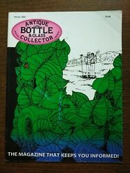 Antique Bottle And Glass Collector Magazine March 2002 Vol. 18 No.11