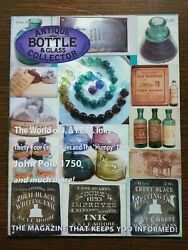 Antique Bottle And Glass Collector Magazine May 2008 Vol. 25 No. 1