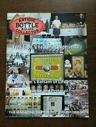 Antique Bottle And Glass Collector Magazine October 2008 Vol. 25 No. 6