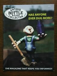 Antique Bottle And Glass Collector Magazine September 2001 Vol. 18 No. 5