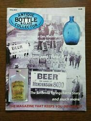 Antique Bottle And Glass Collector Magazine June 2010 Vol. 27 No. 2