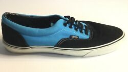 Vans Off The Wall Blue and Black Lace Up Skate Shoe Mens 12