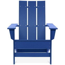 Durogreen Adirondack Chair Plastic Frame Rust-stain Resistant Uv Protected