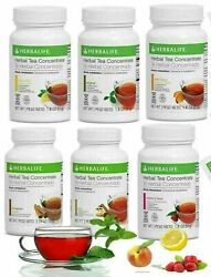 Herbalife Herbal Tea Concentrate 3.6 Oz All Flavors