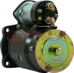 New Starter Fits Mpls Moline Lift Truck Wisconsin Vh4d Replaces 10465428 1109424