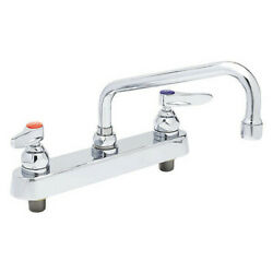 Tands Brass B-1123 Manual, 8 Mount, 2 Hole Low Arc Kitchen/bathroom Faucet