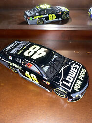 Jimmie Johnson 2018 Lowes For Pros 1/24 Elite -537 Dual Signed Free Shipping