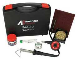 American Beauty Psk50 Soldering Kit50wiron Plated Copper Tip