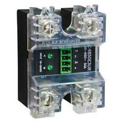 Crydom Cc4850w3v Dual Solid State Relay,4 To 32vdc,50a