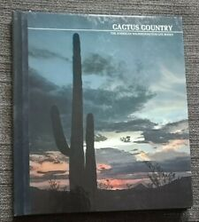 Cactus Country The American Wilderness/time-life Books Hc 1973
