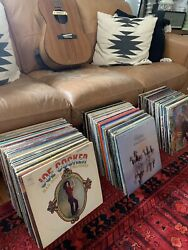 5/ea Vinyl Records Lps Rock/country/classic/folk Pick And Choose Vg Or Better