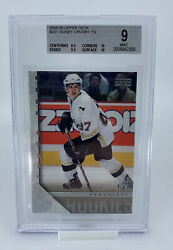 2005-06 Upper Deck Young Guns Sidney Crosby 201 Rookie Rc Bgs 9