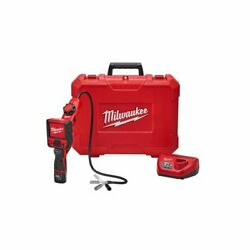 Milwaukee 2317-21 M12 M-spector Flex 3and039 Ft Inspection Camera Cable W/ Pivotview