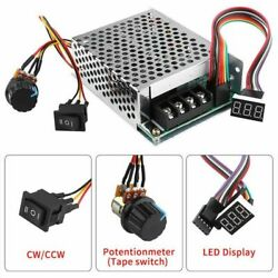 Motor Speed Controller Dc Speed Controller Dc 60a Pwm Cw Ccw Reversible Switch