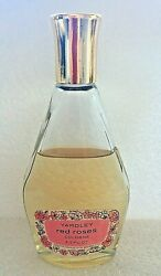 1960-70s Yardley Red Roses Cologne 3.5 Oz Made Usa 3/4 Full Great Label