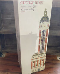 Dept 56 Christmas In The City The Singer Building 6000569 - Retired - Free Ship