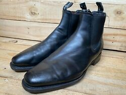 Rm Williams Craftsman Black Leather Chelsea Boot Size- Uk 10.5 H   Usa 11.5
