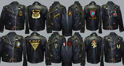 Unit R To S Army Royal Navy Air Force Marines Raf Regiment Motorbike Biker Patch