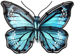 Liffy Butterfly Wall Decor Metal Art Outdoor Wall Decorations FenceGardenPatio