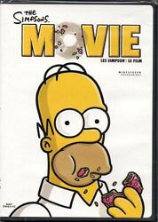 The Simpsons Movie Widescreen Edition Bilingual Dvd