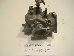 1982 82 Honda Sabre V45 Vf750 Vf750s Carburetor Right Front Body With Butterfly