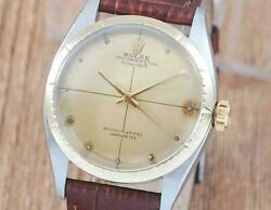 Rolex 6582 Stainless Steel Zephyr Automatic Watch