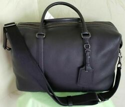Coach Explorer Overnight Carry-on Travel Duffle Bagnwt Black F59437 Retail695