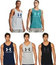 Under Armour Menand039s Ua Sportstyle Logo Tank Top Athletic Shirt - 1329589