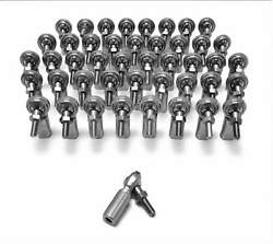 Steinjager Inch Rod Ends Female Steel Housing 2 Piece 1/2-20 Lh Studded 45 Pack