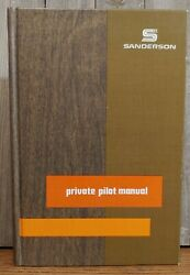 Vintage 1972 1974 Private Pilot Manual By Jeppeson Sanderson Airplanes