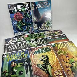 Dc Comics Green Arrow Mixed Collection Of X11 Collectable Comic Books Bundle Lot