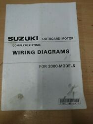 Suzuki Outboard Motor Complete Listing Wiring Diagrams For And0392000 Models