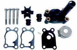 Water Pump Impeller Kit 4 Hp 4.5 Hp 6hp 8 Hp 2 Stroke Johnson Evinrude Outboard