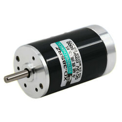 Dc12v/24v Electric Motor 2000-5000rpm 10w High Speed Permanent Magnet Toy Car