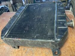 Alfa Giulietta Spider 1956 Radiator Used With Cap. Vintage Awesome